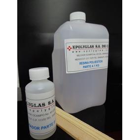 Kit Resina Poliester Cristal P/llaveros/diges+aros+3moldes+p