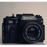 Zenit 122 Reflex Rusa P/reparar O Repuesto,año 80, Foto Real
