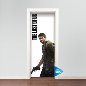 Adesivo 123 De Porta Skin Ps3 Xbox The Last Of Us R05