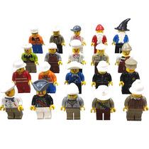 Set De 20 Figuras Compatible Con Lego Profesiones Y Oficios