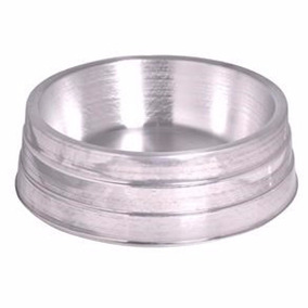 Comedouro De Alumínio Pesado Grande Para Cães