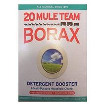 El Bórax 20 Mule Team Detergente Booster 65 Oz.