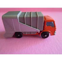 Matchbox Lesney Refuse Truck Nro 7 Autito De Coleccion