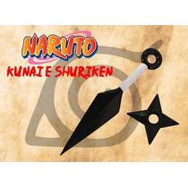 Kunai E Shuriken Naruto - Borracha - Naruto - Cosplay