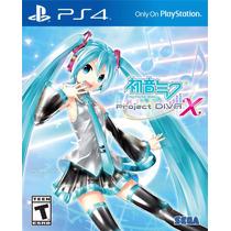Hatsune Miku Project Diva X - Playstation 4, Ps4