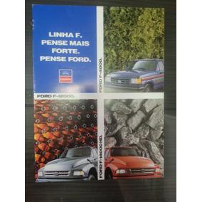 Catalogo Prospecto Lançamento Ford F4000 F12000 F14000