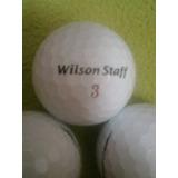 Pelotas De Golf Nuevas-wilson Staff