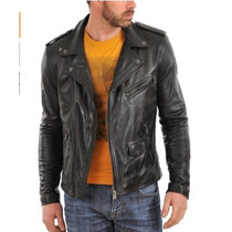 Chaqueta De Cuero Leather Hub -lea Descripcion