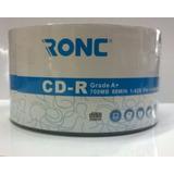 Cd-r Ronc X 50 , Excelente Calidad Grado A+ . Insumax