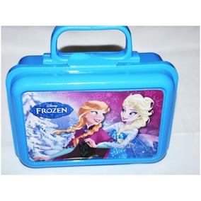 Frozen Caja Avon Valija Lunchera Plastico Escolar Colegio