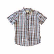 Camisa Botão Ecko Unltd Importada M Xadrez Azul