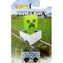 Carrinho De Coleção Hot Wheels - Minecraft - Minecart