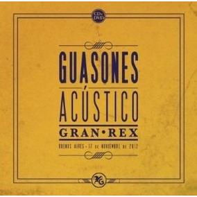 Guasones Acustico Gran Rex Cd + Dvd Impecable!