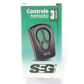 Controle Remoto Portão Eletronico Original Seg - Garen Ppa