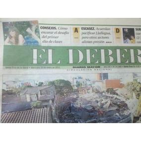 Jornal El Deber. Santa Cruz De La Sierra - Bol 26/01/2011