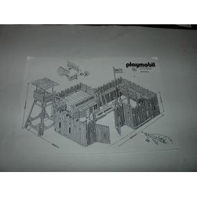= Playmobil Manual Faroeste Fort Randall Frete Gratis