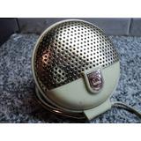 Antiguo Microfono Philips El3750 1956 Holanda Audio Vintage