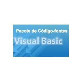 Pacote Com 29 Códigos-fonte Em Visual Basic