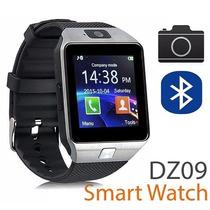 Smart Watch Dz09 Reloj Inteligente Cámara Chip Mic Sd Plata