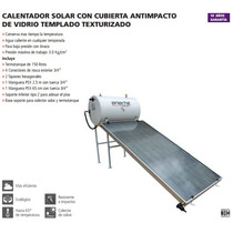 Calentador Solar 150 Plano Vtexturizado Iusa