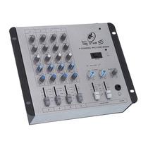 Mesa De Som 4 Canais Ll Star 4 - Microfone E Instrumentos