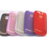 Capa Tpu, Silicone Celular Nokia C3, C-3, 6 Unidades
