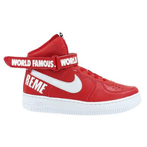 Tenis Nike Air Force Word Famous Supreme Bota Cano Alto