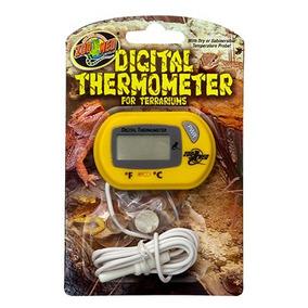 Zoomed Termômetro Digital Para Terrários Th-24