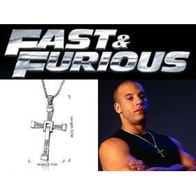 Colar Cordão Crucifixo - Toretto - Velozes E Furiosos - Cruz