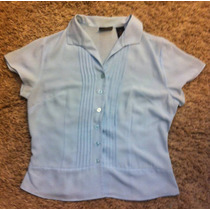 Blusa Camisa De Dama Laura Scott Talla 6 (chica)