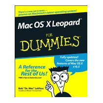 Libro Mac Os X Leopard For Dummies, Bob Levitus