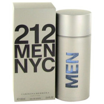 Perfume 212 Men 100ml Carolina Herrera 100% Original