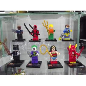 Figuras Compatibles Con Lego De Superheroes, Dc-marvel