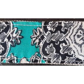 Cinturon Vintage De Tela.hermoso Diseño.san Isidro