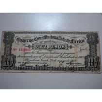 1913 Gobierno Constitucional De México Monclova