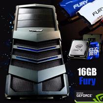 Cpu Gamer / Core I5 / 16gb / 1tb / Gtx 750ti / Wi-fi/ 500w