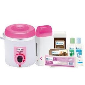 Termocera Panela 700g P/depilação +rolon Eletrico+produtos