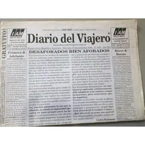 Jornal Diario Del Viajero. Buenos Aires Argentina 15/11/2006