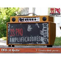 Amplificador Sspro Multifunción A Batería De Guitarra