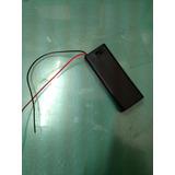 Porta Pila 1xaa En Caja Con Interruptor Y Cable