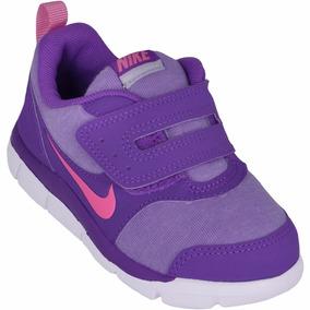 Tênis Nike Infantil Free Stepper Rosa/roxo Promoção