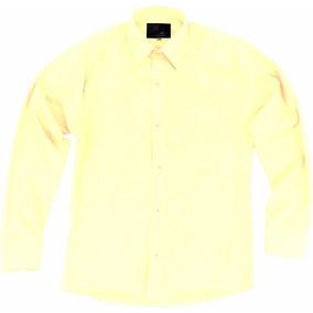 Camisa Vestir Para Adulto Hueso O Beige Talla Extras 44 A 50
