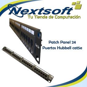 Patch panel de 24 puertos cables y herramientas en - Patch panel de 24 puertos ...