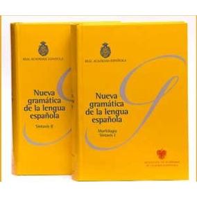 Nueva Gramática De La Lengua Española 2 Volúmenes (envíos)