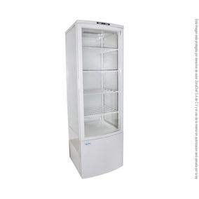 Refrigerador De Exhibición Panorámica Mgs 515x485x1695 Mm