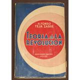 Teoría De La Revolución Teja Zabre, Alfonso 1936 Historia