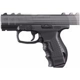 Pistola Walther Cp99 Con Retroceso Metalica Accesorios Nueva