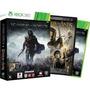 Jogo Sombras De Mordor Xbox360 + Dvd Filme Senhor Dos Anéis