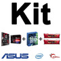 Kit Asus B150 Pro Gaming/aura + I5-6600k + Mem. 8gb Ddr4