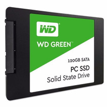 Hd Ssd 120gb Western Digital Green Lacrado 100 % Original